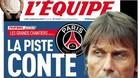 LEquipe sitúa a Conte cerca del PSG
