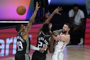 Los Rockets tienen marca de 4-1 en la burbuja de la NBA
