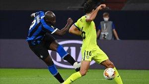 Lukaku marcó a los 33 minutos el primer gol del Inter ante el Getafe