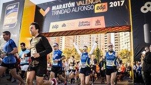 Maratón Valencia ayudará a más de 3.800 debutantes