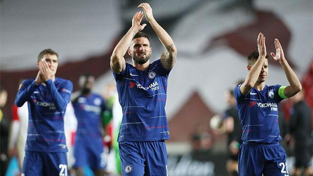 Marcos Alonso da la victoria al Chelsea ante el Slavia de Praga