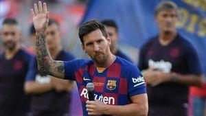 Messi será titular por primera vez esta temporada