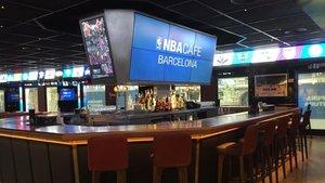 El NBA Café fue el centro neurálgico de los NBA lovers