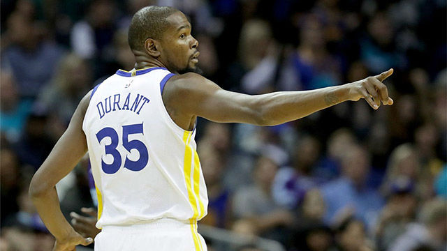 NBA VIDEO | Exhibición de Kevin Durant ante Dallas Mavericks