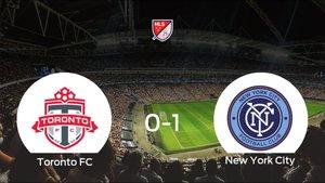 El New York City se lleva el triunfo tras ganar 0-1 al Toronto FC