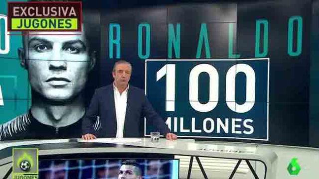 Pedrerol anuncia que Cristiano deja el Madrid y fichará por la Juventus