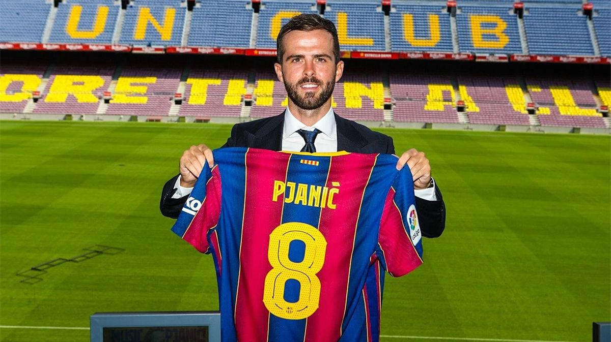 Pjanic habla de su motivación tras llegar al Barça