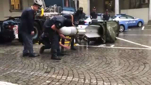 La policía italiana confisca un gran arsenal a un grupo de ultras del Juventus