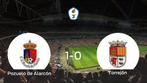 El Pozuelo de Alarcón gana 1-0 en su estadio frente al Torrejón CF