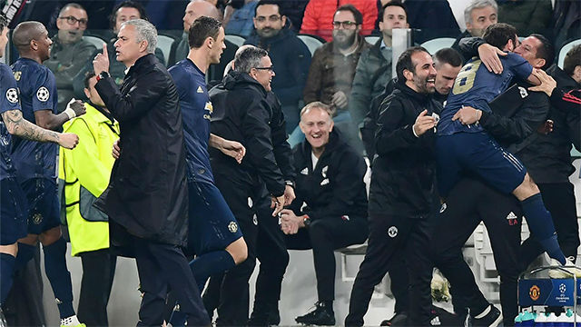 Remontada in extremis del Manchester United en Turín