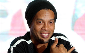Ronaldinho está en New York