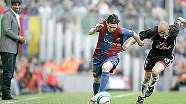 Rubiales se enfrentó a Messi en 2006: ¡nunca pudo parar al astro argentino!