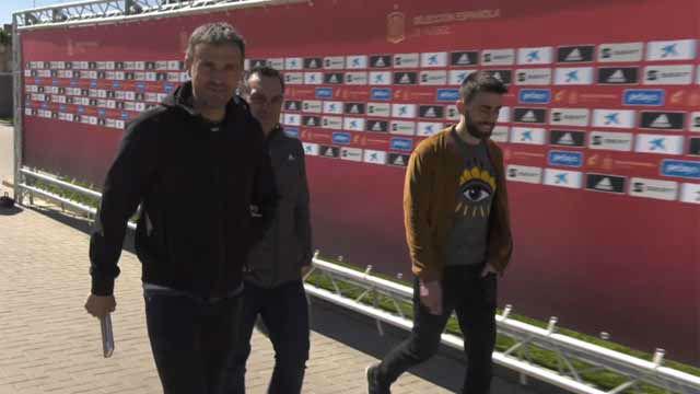 La selección española empieza a trabajar pensando en la Eurocopa