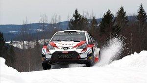 Tänak (Toyota) acaricia el triunfo en Suecia