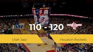 Triunfo de Houston Rockets ante Utah Jazz por 110-120