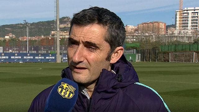 Valverde analiza el rival del Barça en octavos