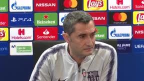 Valverde habló en la previa del partido ante el Liverpool