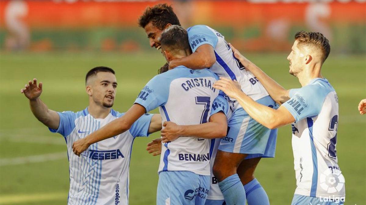 Victoria del Málaga por la mínima ante el Alcorcón (1-0)