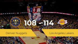 Victoria de Los Angeles Lakers ante Denver Nuggets por 108-114