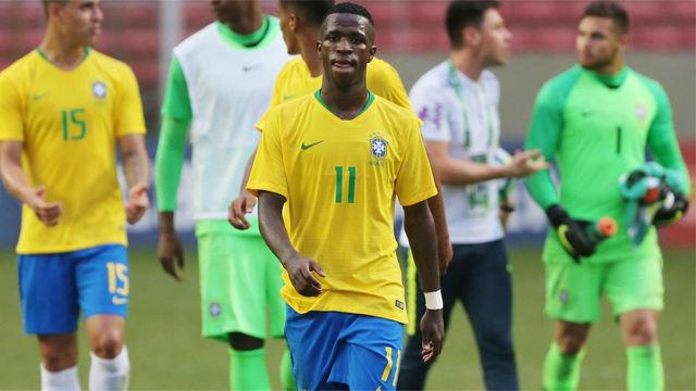 Vinicius Jr: Solari me ayuda y estoy feliz en el Madrid