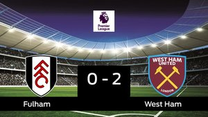 El West Ham doblegó al Fulham por 0-2