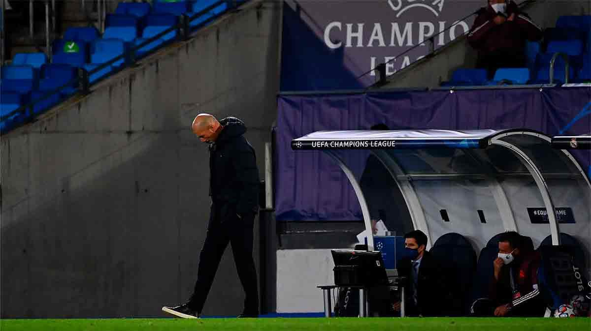 Zidane se hace responsable de la derrota ante el Shakhtar