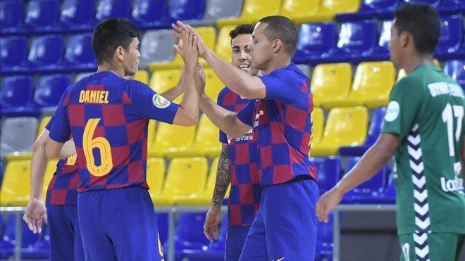 El Barça 'democratiza' los goles