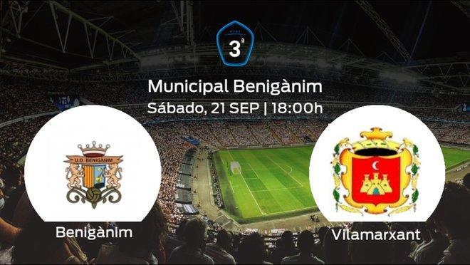 Jornada 5 de la Tercera División: previa del duelo Benigànim - Vilamarxant