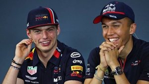 Verstappen y Albon seguirán como tandem de Red Bull
