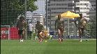 Nacho y Jovic, únicas ausencias del entrenamiento