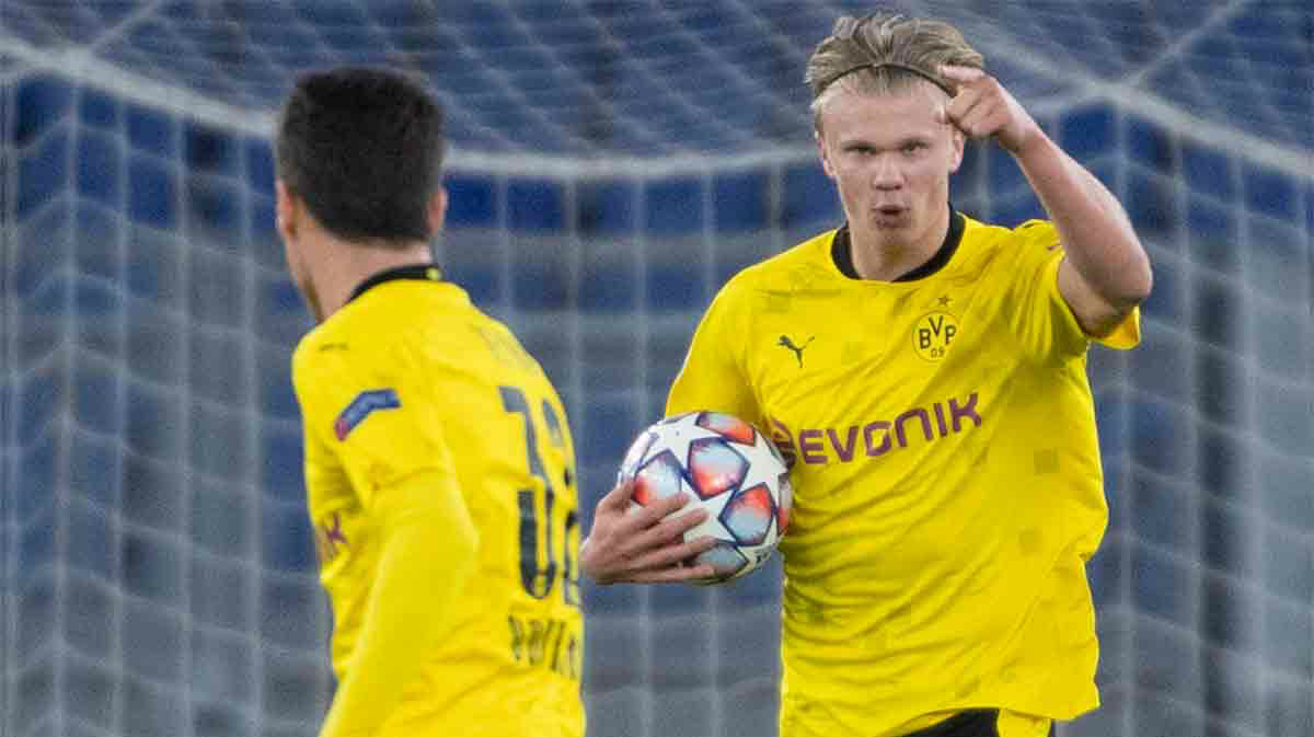 Salen a la luz las cláusulas de Haaland con el Dortmund