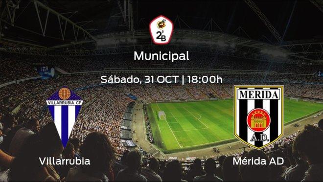 Previa del encuentro: Villarrubia - Mérida AD