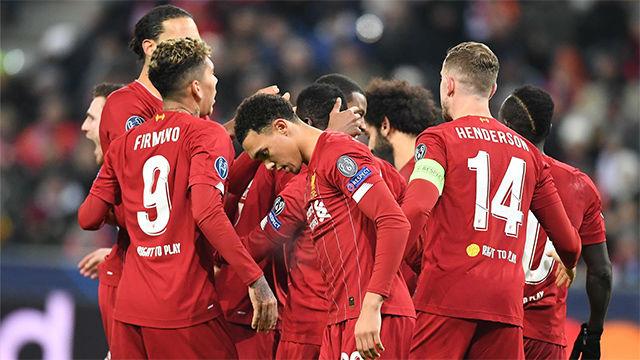 Así fue la disputada victoria del Liverpool en Salzburgo