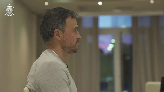 Así ha vivido Luis Enrique Martínez el sorteo de la UEFA Nations League