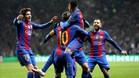 El Barça consiguió el objetivo
