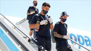 El Barça prepara su viaje a Lisboa
