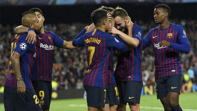 El Barça, sin Messi, gana con solvencia al Inter
