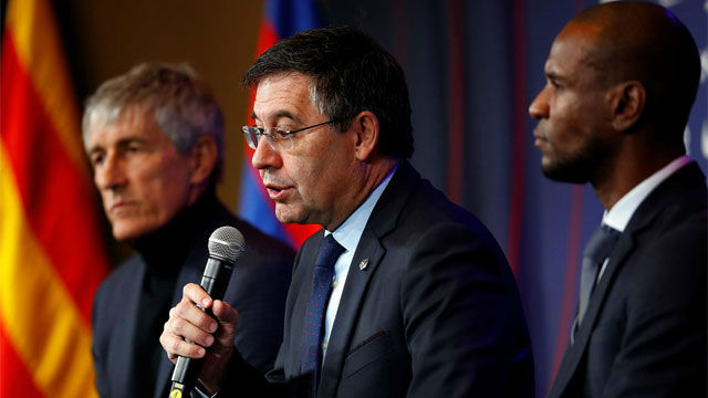 Bartomeu explica el motivo de la destitución de Valverde