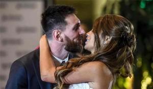La boda de Messi y Antonela tuvo una canción muy especial