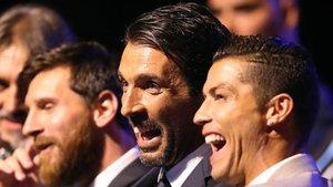 Buffon aplaude el fichaje de Cristiano por la Juve
