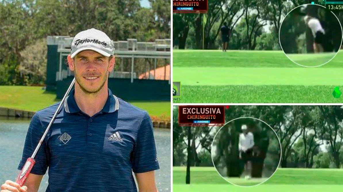 El cachondeo de Bale no cesa: vuelven a pillarle jugando a golf