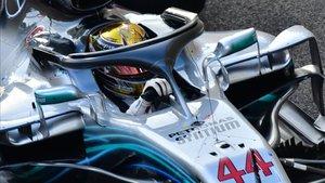 El campeón 2018, Lewis Hamilton (Mercedes)