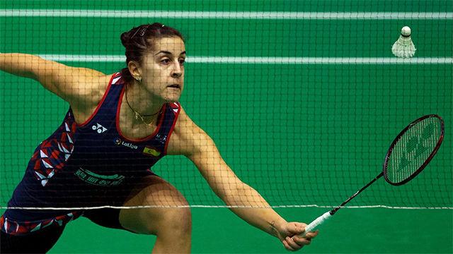 Carolina Marín se estrena con victoria en Barcelona