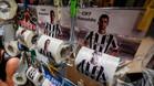 Con la llegada de CR a la Juventus, los llamativos vendedores se hacen su agosto con la cara del ex Real Madrid