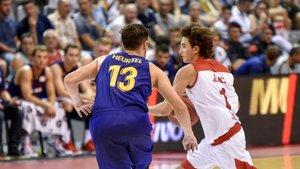 David Òrrit no ha tenido un camino fácil para debutar en la ACB con el Bàsquet Manresa