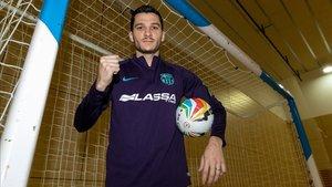 Dyego es uno de los grandes referentes del Barça Lassa
