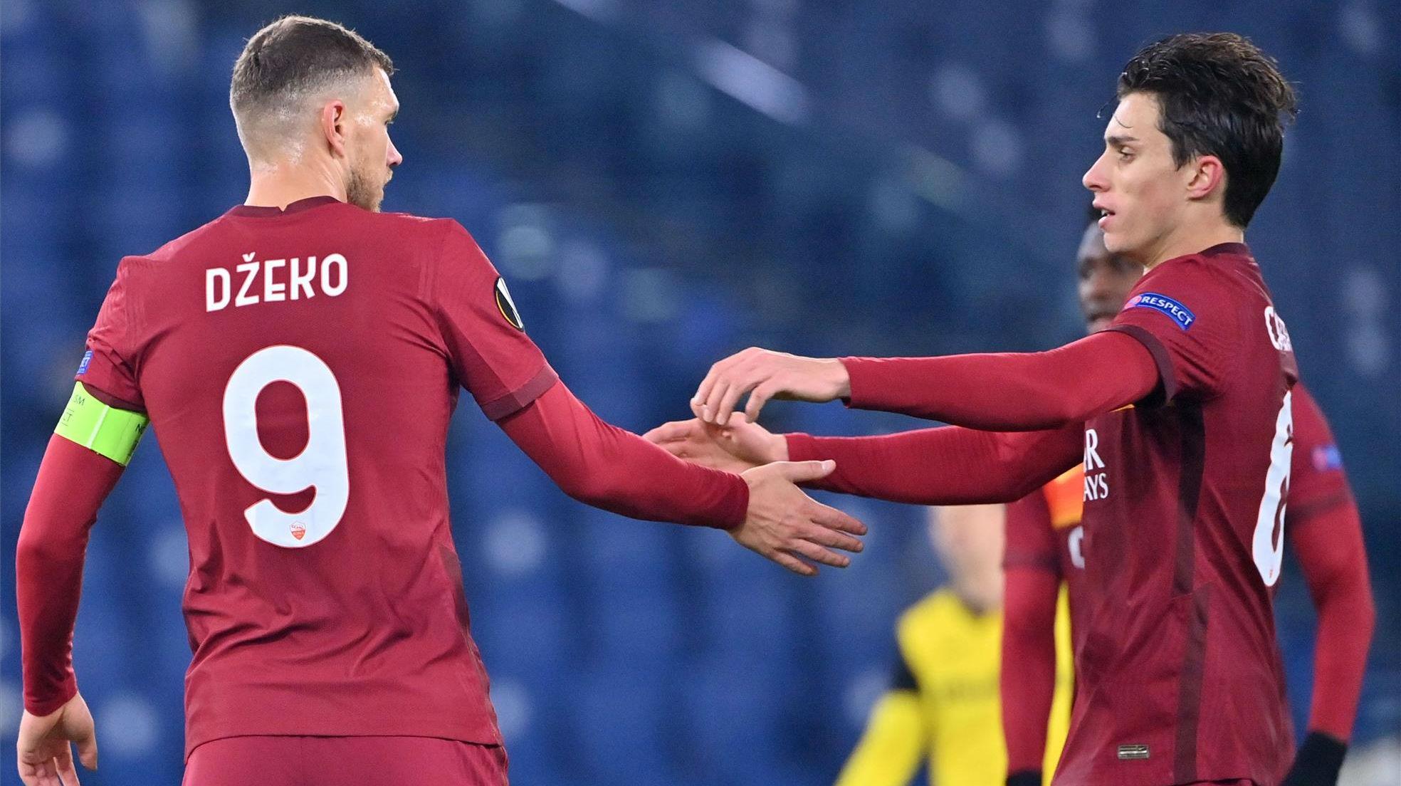 Dzeko redondeó la victoria de la Roma ante el Young Boys