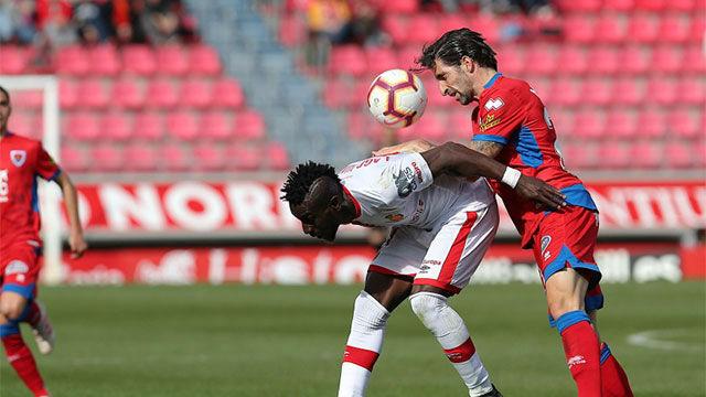 Empate entre Mallorca y Numancia para mantener sus objetivos
