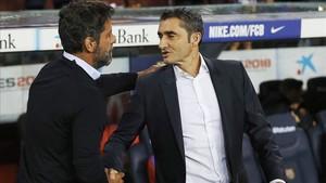 Ernesto Valverde siente mucho respeto hacia el Espanyol de Quique