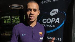 Ferrao, en las tensas horas previas a la final de la Copa de España